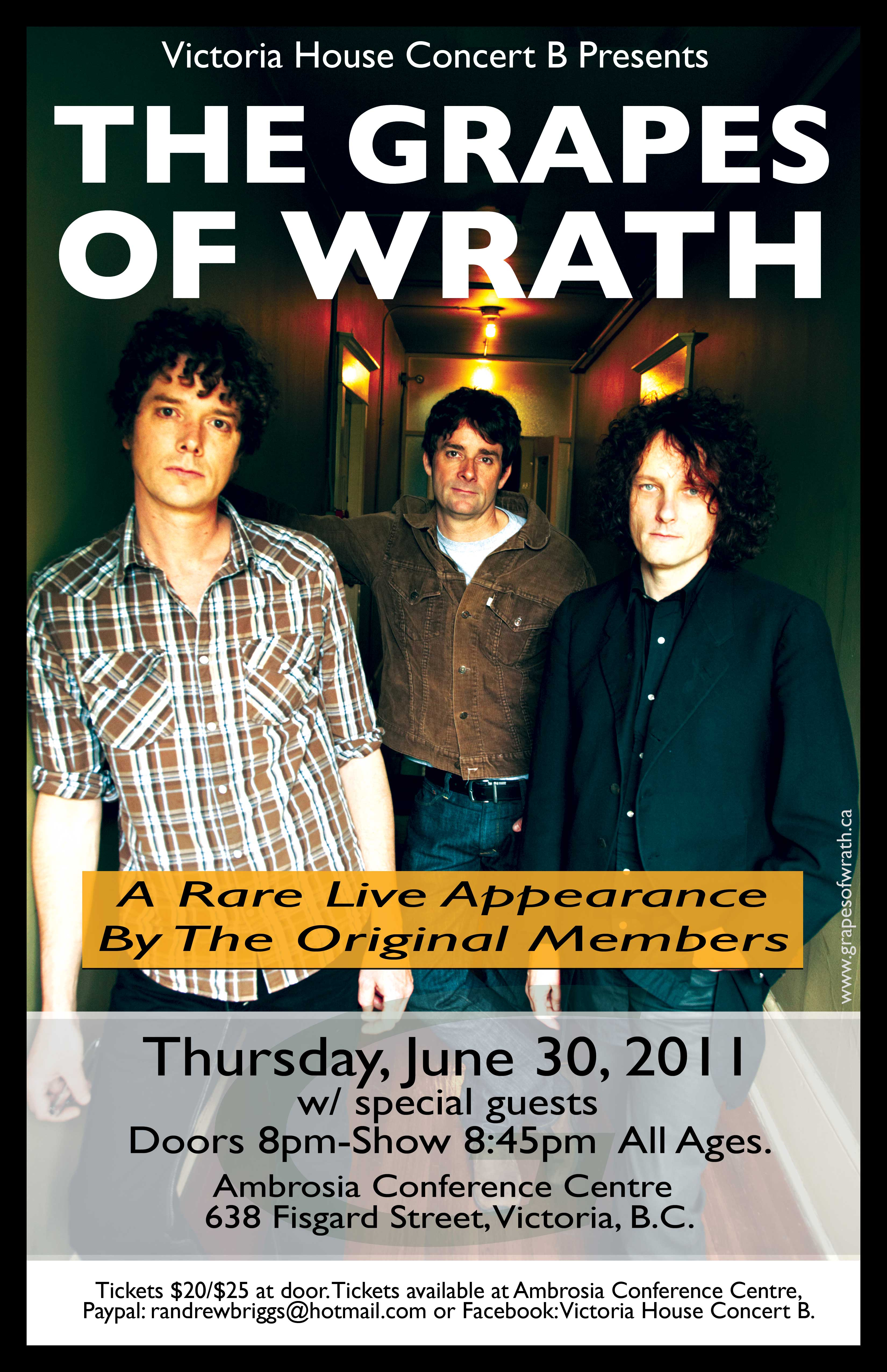 The Grapes Of Wrath Play Victoria June 30th