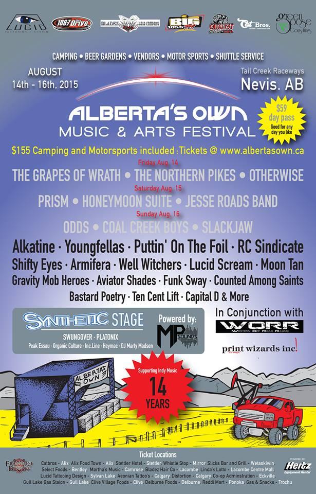 Alberta's Own festival 1